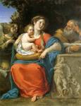 Франческо Альбани. Святое семейство. 1625-30. Картинная галерея. Дрезден