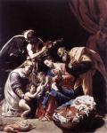 Орацио Борджиани. Святое Семейство. Около 1600. Рим. Национальная галерея. Палаццо Барберини
