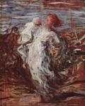 Оноре Викторьен Домье. Мать с младенцем