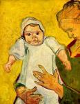 Винсент Виллем Ван Гог. Августина Рулен со своим молочным сыном. 1888