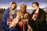 Винченцо Катена. Святое семейство со святой женой. Около 1501-1504. Будапешт. Музей изобразительных искусств