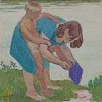 М. Натаревич. Вечерний туалет. 1962
