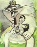 П. Пикассо. Материнство (Женщина и ребенок). 1971. Париж. Музей Пикассо