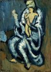 П. Пикассо. Материнство. 1901