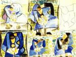 П. Пикассо. Материнство. 1944