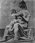 П. Пикассо. Мать и дитя на берегу моря. 1922