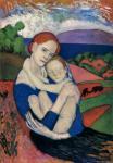 П. Пикассо. Мать и дитя (Материнство). 1901