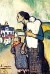 П. Пикассо. Мать и дитя 2. 1905