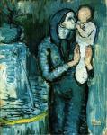 П. Пикассо. Мать и дитя 3. 1901