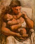 П. Пикассо. Мать и дитя, 1921
