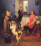 Ф. Решетников. Опять двойка. 1952. Государственная Третьяковская галерея. Москва