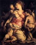 Франческо Сальвиати. Любовь материнская. 1554-1558. Флоренция. Галерея Уффици