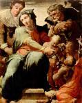 Пеллегрино Тибальди. Святое семейство. 1554-1555. Неаполь. Национальная галерея Каподимонте