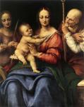 Чезаре да Сесто. Святое семейство со Святой Екатериной. 1515-20. Государственный Ермитаж. Санкт-Петербург