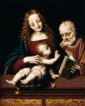 Марко де Оджоно. Святое семейство. Частная коллекция
