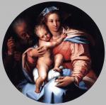 День Матери: Перино дель Вага. Святое семейство. Около 1540. Музей Лихтенштейн. Вена