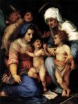 Андреа дель Сарто. Святое семейство с ангелами. 1515-16. Лувр. Париж