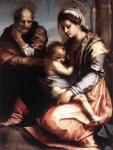 Андреа дель Сарто. Святое семейство (Барберини). Около 1528. Национальная галерея античного искусства. Рим