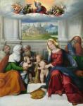 Гарофало (Бенвенуто Тизи). Святое семейство со святыми. Национальная галерея. Лондон