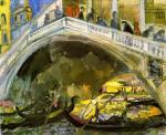 Анисфельд Б.И.   Венеция. Мост Риальто. 1914.
