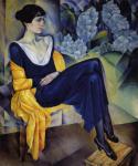Altman N. Portrait of Anna Akhmatova. 1914