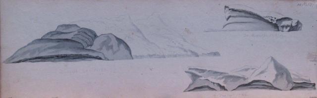 Михайлов П.Н. Три айсберга. 30 декабря 1819 – 4 января 1820