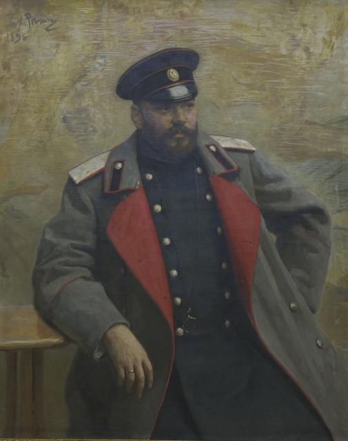 Репин И.Е. Портрет генерала А.К.Гейнса. 1896. ГМИИ РТ