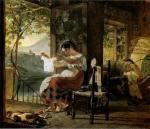 К.П. Брюллов. Итальянка, ожидающая ребенка. Государственный Русский музей