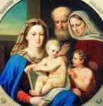 А.Е. Егоров. Святое семейство. 1850. Ярославский художественный музей