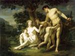 А.И. Иванов. Адам и Ева с детьми под деревом. 1803. Государственный Русский музей