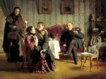 А.И. Корзухин. Разлука. 1872. Государственная Третьяковская галерея