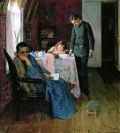 А.М. Корин. Опять провалился. 1891. Калужский областной художественный музей