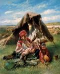 К.Е. Маковский. Жница. 1871. Государственный Русский музей