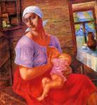 К.С. Петров-Водкин. Мать. 1915