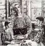 К.С. Петров-Водкин. Мать. 1920
