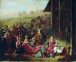 Г.И. Семирадский. Святое семейство. Эскиз росписи. Государственный музей изобразительных искусств Кыргызстана