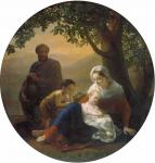 П.М. Шамшин. Святое семейство. 1858. Государственный Русский музей
