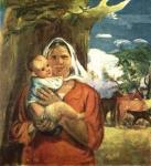 Ф.С. Шурпин. Материнство. Извечное. 1931