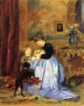В.И. Якоби. Семья художника. 1867. Частная коллекция