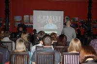 C презентацией проекта выступает С.Н. Левандовский