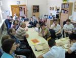 На мастер-классе - гости из Бийска