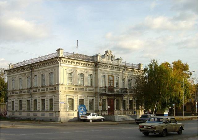 Художественный музей на улице Ленина. В этом здании находилась городская Управа