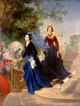 Брюллов К.П. Портрет сестер Шишмаревых. 1839