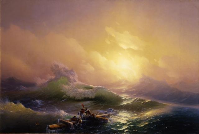 Айвазовский И.К. Девятый вал. 1850