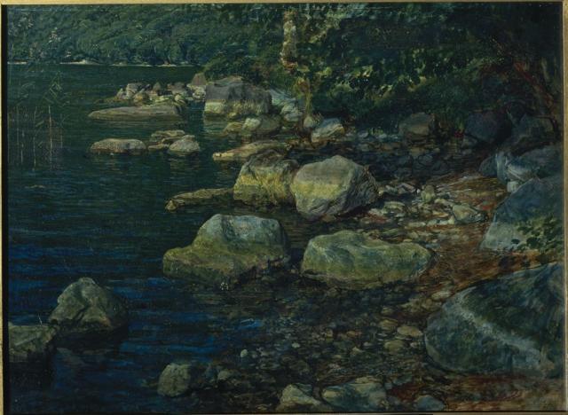 Иванов А.А. Вода и камни под Палаццуола. 1850-1853