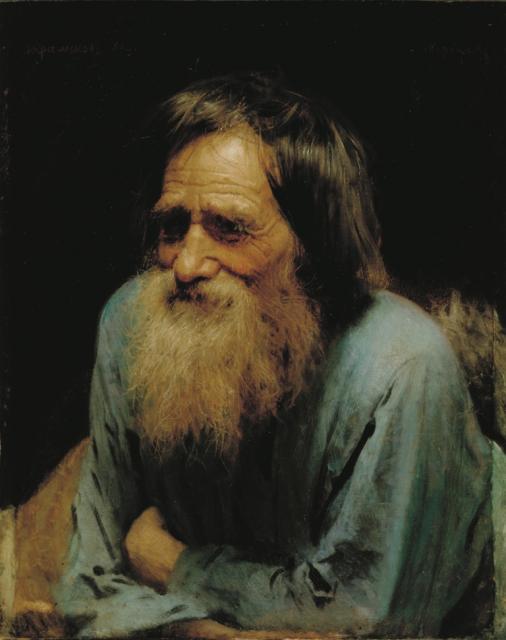 Крамской И.Н. Мина Моисеев. 1882