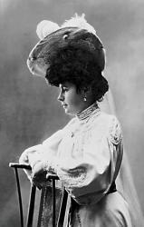 Красильщикова Елизавета Алексеевна. Фото 1906 г.