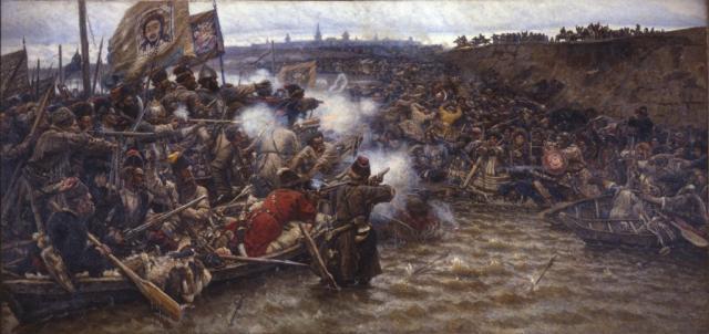 Суриков В.И. Покорение Сибири Ермаком.1895