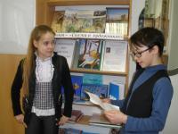 Семенова Даша и Лысов Артем репетируют диалог