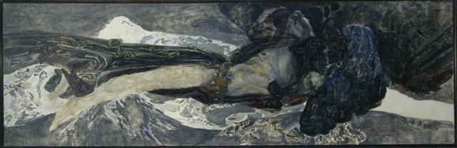 Врубель М.А. Летящий демон. 1899